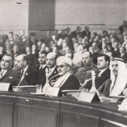 With President Gamal Abdelnasser of Egypt 1969